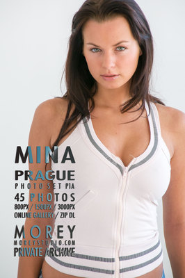 Mina Prague erotic photography by craig morey